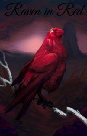 Raven in Red by LittleDemonWolf