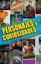 PERSONAJES Y CURIOSIDADES de las Historias de Luzbel by LuzbelGuerrero