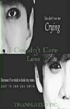 I Couldn't Care Less||مترجمه by LiYeol