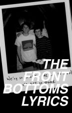 THE FRONT BOTTOMS LYRICS by mikeyfckinway