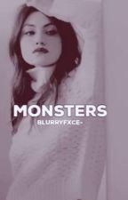 Monstruos  #4  by SamLaheyHale
