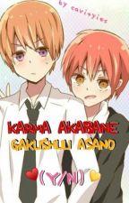 Karma & Gakushuu x Reader |♡| Oneshots by cavityies