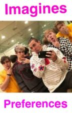 sam, colby, Corey, Aaron, And elton imagines and preferences  by cinnamonroll_girl