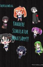 Yandere Simulator WhatsApp!!! by TheMiauwBlog