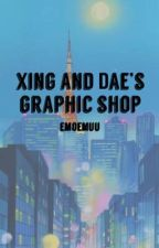Xing and Dae's  graphic shop!  by emoEmuu