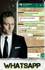 "📱""WhatsApp""📱(Tom Hiddleston y Tu) by Nao_Celis15"