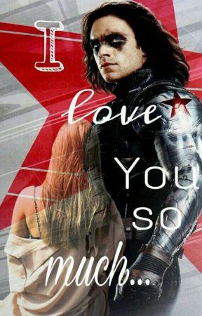 I love you so much | Bucky Barnes by nanablyskawica