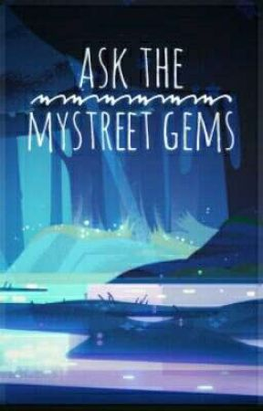 Ask The Mystreet Gems 💜 // Aphmau Au// by Celestia_Da_Pupper