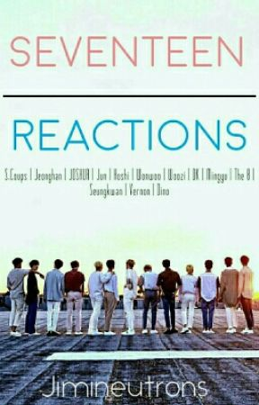 Seventeen Reactions - They saw you crying (Hyung Line) - Page 3