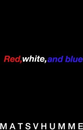 RED, WHITE, AND BLUE[ntdp imagines] by matsvhummels