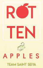 Rotten Apples con Milo de Escorpio  by Editorial_SaintSeiya