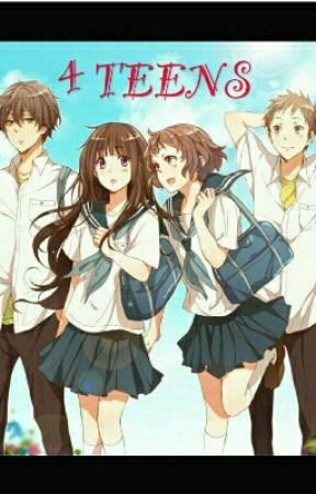 4 teens... by SockBoy2