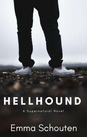 Hellhound by Emskie-Wings