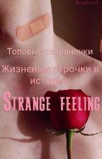 Strange feeling by tayaRaiber_