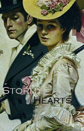 Stormy Hearts  by brokenbeauty133