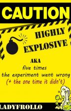 Caution: Highly Explosive ✓ by ladyfrollo