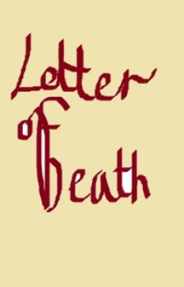 the letter of death
