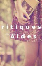 Critiques & Aides pour vos Livres ♡ [Inscriptions fermées] by _Ridley_