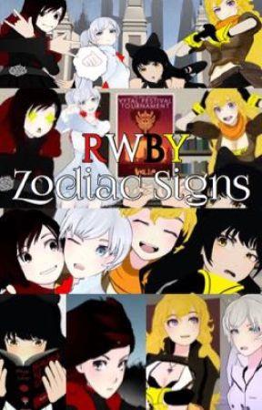 RWBY Zodiac signs  by LillianDuncan