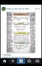 Pierce The Veil Lyric Book by alwaysxbands