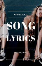 Song Lyrics by Sydzzy