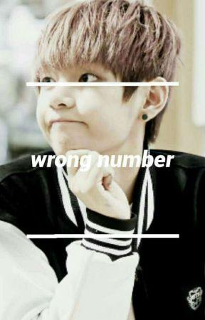 wrong number [bts // taehyung] by cinnamonandsuga