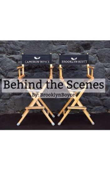 Behind the Scenes (A Cameron Boyce Fanfiction)