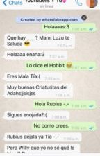 WhatsApp Youtubers y tú❤️💕 by supercrestividad