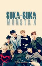 Suka-Suka ; Monsta X by whitesugarykh