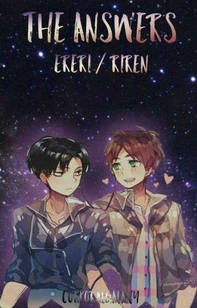 The Answers (Ereri/Riren Modern/Soulmate Au) by CorporalGalaxy