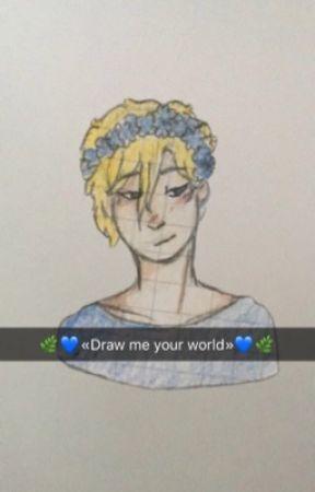 DRAW ME YOUR WORLD (livre de dessin) by UnHumainQuiCrie