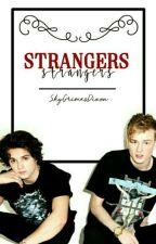Strangers ; Tradley by SkyGrimesDixon