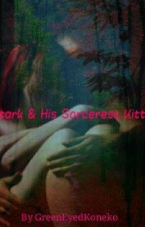 Stark & His Sorceress Kitty  by GreenEyedKoneko