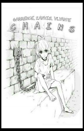Chains [Garrence, Zanvis, Vlyante Slave AU] by Snowyheaven