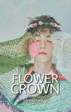 FLOWER CROWN (CHANBAEK) by Strawbaekki_