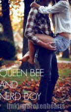 Queen Bee and Nerd Boy by linkingbrokenhearts