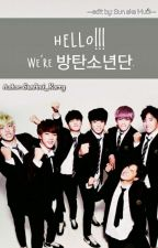 [BTS] [FICTIONAL GIRL] Hello!!!! We're 방탄소년단. by -flamingoo-