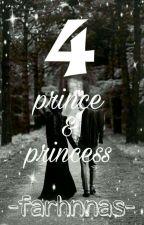 4 Prince & 4 Princess by farhnnas