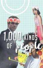 1,000 Kinds Of People by strangeblacksoul