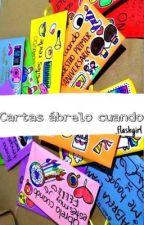 Cartas ábrelo cuando.  by _flashgirl