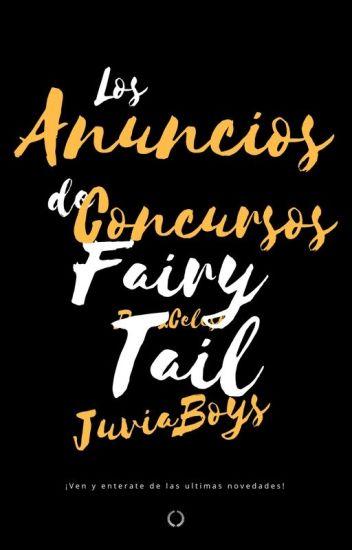 Los anuncios de Concursos FairyTail 『Guía』