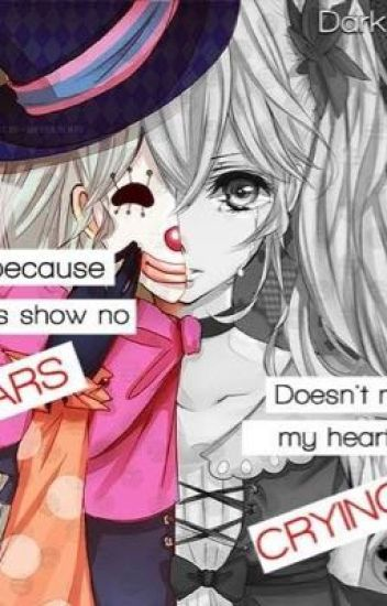 My mask <Karma x depressed! reader> - Emotionless_freak