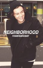 Neighborhood ➳ h.s. au by roseisaloser