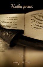 Haiku poems by vamp_witch
