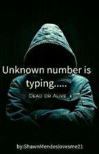 Unknown number is typing... by AmyTheWeirdNeko