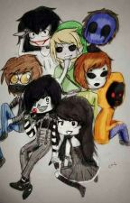 Creepypasta x Reader by CreepyGirl10002