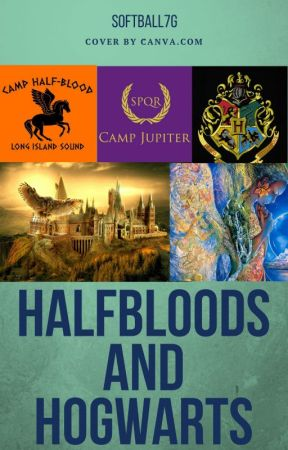 Halfbloods and Hogwarts by softball7g