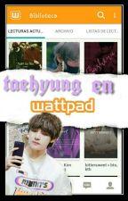 ✏ taehyung en Wattpad?  by xthay28x