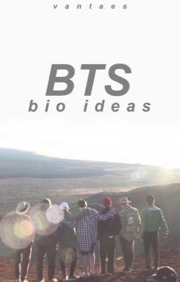 Bts Bio Ideas Vi Wattpad