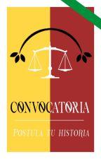 Convocatoria - ¡Postula tu historia! by ProyectoElPartenon